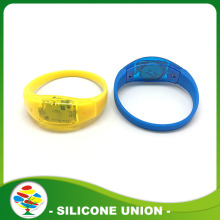 Flashing Silicon Sound Activated Led Wristband