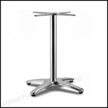 Jambe de table en alliage d'aluminium à base croisée forte (SP-ATL237)