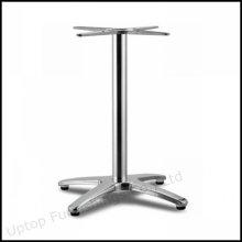 Pé de mesa de liga de alumínio de base cruzada forte (SP-ATL237)