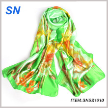 Promote 2015 Fashionable Stock Silk Scarves Wholesale