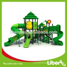 Große Fantasy Spielplatz Ausrüstung mit Curved Tube Slide Spielplatz Installation Unternehmen