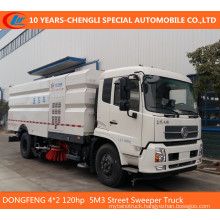 Dongfeng 4*2 120HP 5m3 Street Sweeper Truck