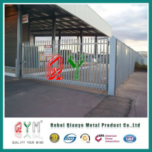 Galvanized and PVC Coated Palisade Fence