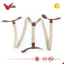 Kinder-Hosenträger Baby-Hosenträger Leder elastische Klammern