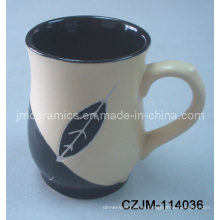 Keramik Teetasse mit Prägung