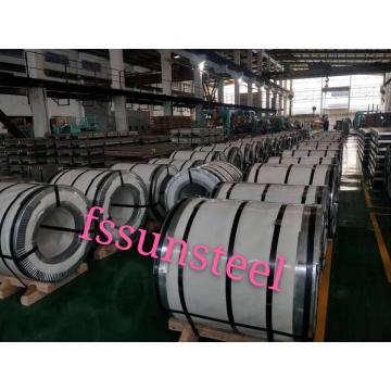 201 bobinas de acero inoxidable