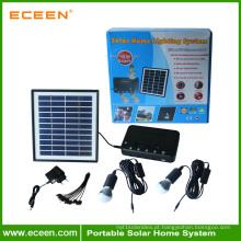 Sistemas de iluminação solar de energia solar em casa