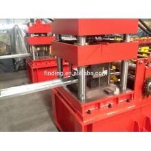 preço de fábrica do frame de porta de aço rolamento máquina de dobra