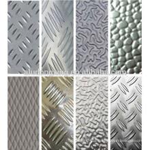 Fibra de alumínio embutida e oxidada Ficha de alumínio / Placa 5000series