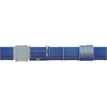 Línea de producción de vidrio aislante vertical automática Lbxh2500pw / barra espaciadora de aluminio para vidrio aislante