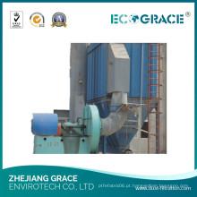 Máquina industrial do filtro da coleção de poeira de Baghouse do coletor de poeira do ciclone