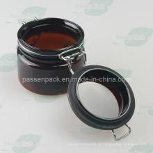 Pet Kliner Jar com selo de anel de silicone para embalagem de cosméticos (PPC-56)