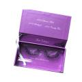 Luxury Custom False Eyelashes Packing Box For Girls