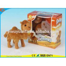 Novelty Design Kinder Spielzeug Bunte Walking Electric Skip Stuffed Camel
