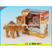 Novelty Design Kids' Toy Colorful Walking Electric Skip Stuffed Camel