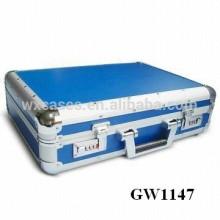 maleta de aluminio fuerte y portátil de China fábrica ventas por mayor