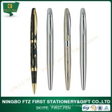 Cadeaux d'affaires Golden Trims Metal Roller Pen