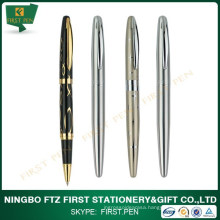 Business Gifts Golden Trims Metal Roller Pen