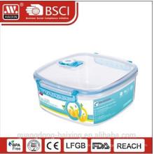 BPA Free vácuo alimentos recipiente com tampa