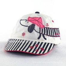 Gorra de bebé de impresión de perro de moda para niños