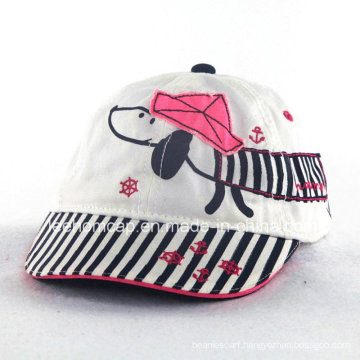 Kids Fashion Dog Print Baby Cap