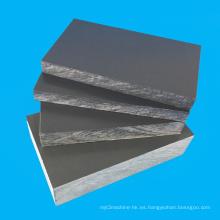 Hoja gruesa de PVC de 10 mm de espesor para el tanque de peces