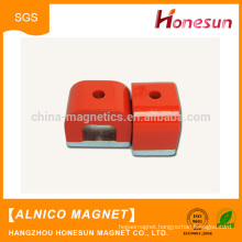 Hot products High Quality red paint alnico magnet