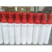 Portable ISO7866 Aluminum Gas Cylinders with Caps