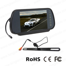 7inch Rear Mirror Monitor Rearview Camera System