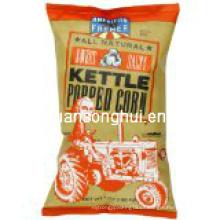 Bolso de empaquetado plástico de las palomitas / bolso de las palomitas de maíz / bolso soplado del alimento