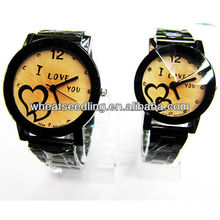 2013 latest valentine quartz couple watch set JW-52