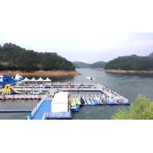good price plastic jetty pontoon brand new hdpe pontoon cubes 400mm deep dragon boat pontoon