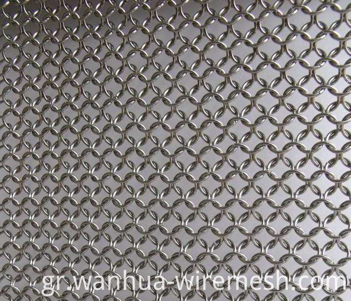 Stainless steel ring chain link mesh (1)