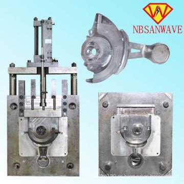 El molde de alta presión a presión del radiador de la fundición a presión de aluminio