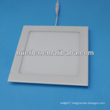 china shenzhen ce rohs 4w/6w/9w/12w/15w/18w downlight kitchen led panel lighting 2700k 3000k 5000k(round&square)