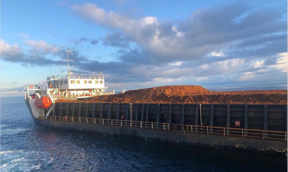 Second Flat Deck Barge