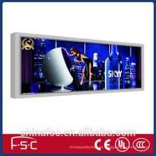 Tela de fabricación al aire libre led caja de luz