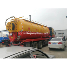 8X4 Best price vacuum suction sewage truck