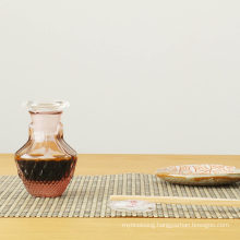 Household Kitchen Special Vinegar and Soy Sauce Crystal Glass Bottle 100ml 250ml 500ml 1000ml