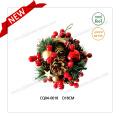 Диаметр 10-дюймовый PE Pine & Cherry Рождественский бал для украшения партии