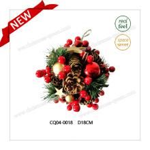 2017 bola de plástico de alta calidad de Navidad para la decoración de la boda de vacaciones