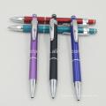 Рекламный щелчок Металлическая ручка с логотипом