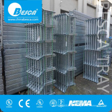 Escada de cabo liso das telecomunicações de aço com boa qualidade