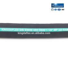 Hydraulischer Gummischlauch Vier hohe Tentile Wire Braid Hose