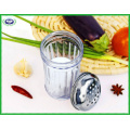 300ml Glass Bottle and Stainless Steel Lid Spice Jar