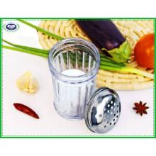 Frasco de vidro de 300 ml e tampa de aço inoxidável Spice Jar