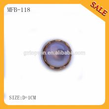 MFB118 Botón de la resina de la perla / botón de la resina de la Perla