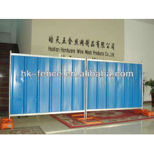 Temporary track barrier fence/Removable fence panels for construction