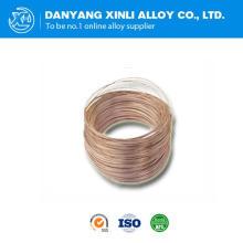 Alambre de cobre basado en la aleación de manganeso 6j12