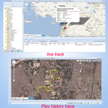 Fahrzeug GPS Tracking Server Unterstützung Tr102, Gt02, Gt06, Tr02, Gt06n (TS05-KW)